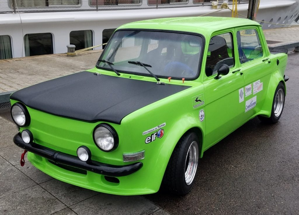 Simca Rallye 2 Les Joyeux Coureurs